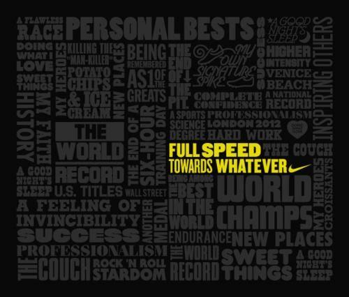 Nike motivational poster garage gym pinterest
