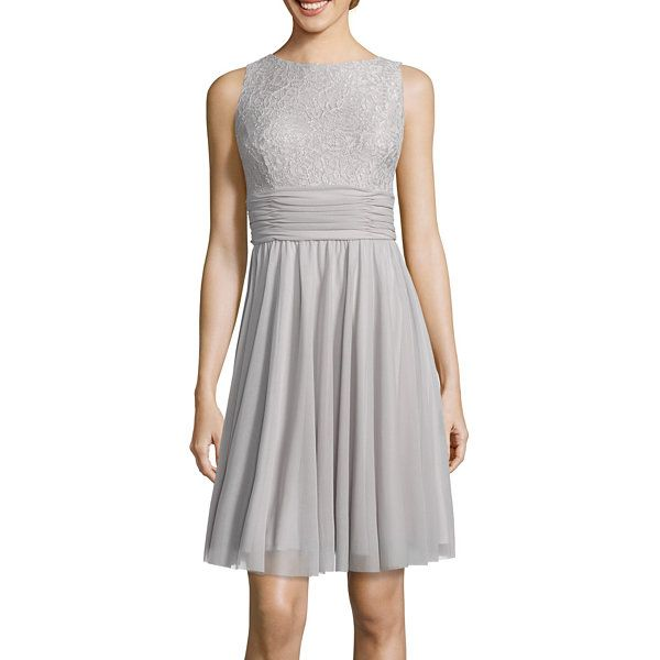 Jessica Howard Lace Fit-and-Flare Dress - JCPenney | Rachel | Pinterest