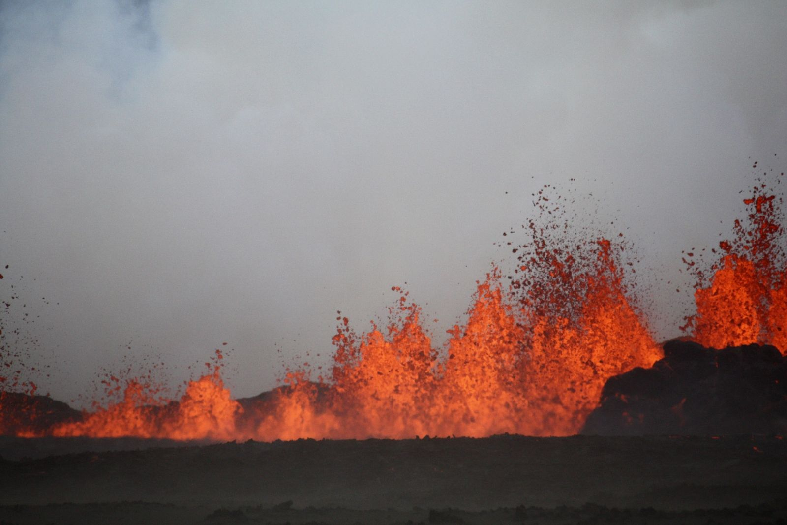 Iceland's Bardarbunga Volcano: Quadcopter Drone Captures Incredible Close-Up Footage of Eruption - INTERNATIONAL BUSINESS TIMES #Volcano, #Eruption, #Volcano