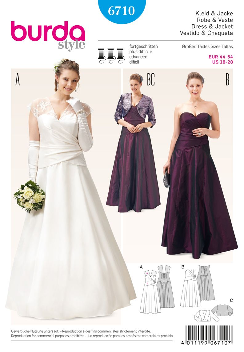 Simplicity Creative Group Misses And Plus Size Gown Wedding Dress Patterns Gown Sewing Pattern Evening Dresses For Weddings [ 1142 x 793 Pixel ]