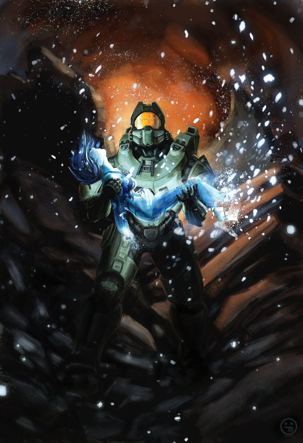 Halo 4 We Go Together By Andrewkwan Deviantart Com On