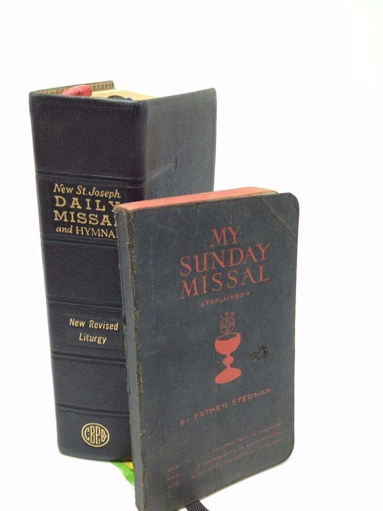 Catholic Missals Pre Post Vatican 2 Lot 2 Stedman St