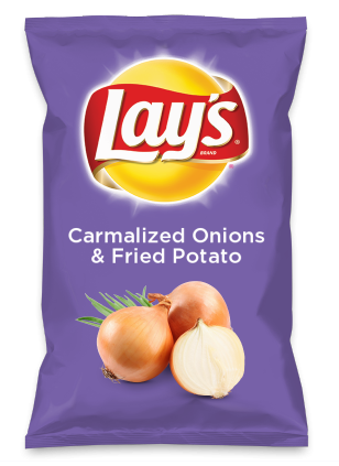 Wouldn't Carmalized Onions & Fried Potato be yummy as a chip? Lay's Do Us A Flavor is back, and the search is on for the yummiest flavor idea. Create a flavor, choose a chip and you could win $1 million! https://www.dousaflavor.com See Rules.