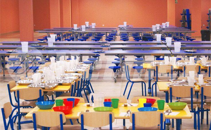 Mesas para comedor infantil | Comedores escolares ...