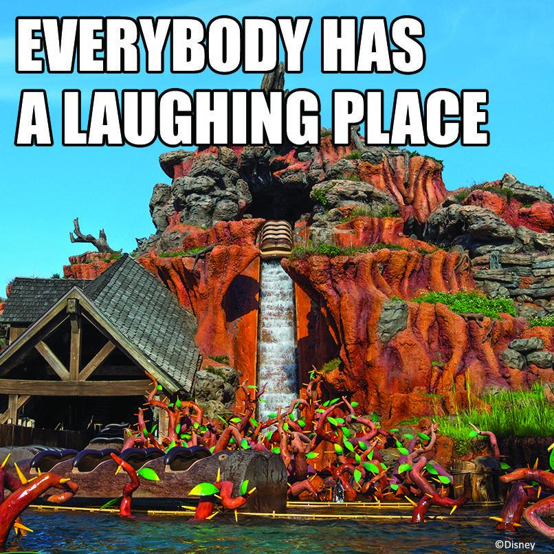 Quote For Happy Place Disney World: Splash Mountain At Magic Kingdom!