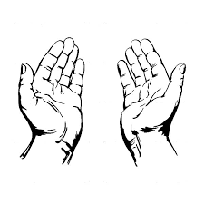 Image Result For Praying Hands Ilustrasi Objek Gambar Menggambar Tangan