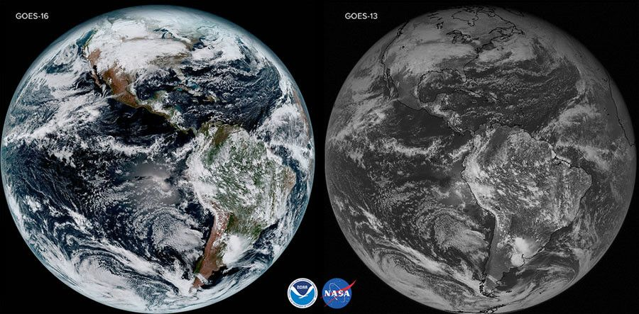 NOAA delivers stunning first satellite images of Earth (PHOTOS) — RT America