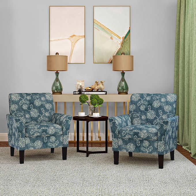 Demeur Fabric Chair 2 Pack In 2020 Chair Fabric