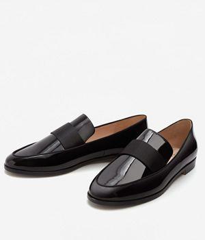 Pantofi Dama Lac Fara Toc Mango | Colectii Mango dama | Pinterest ...