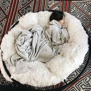 While We Were Working In The Yard Alexis Snuck Off To Take A Nice Long Nap She Asked Me For One Of These Ch Cozy Room Decor Papasan Chair Bean Bag