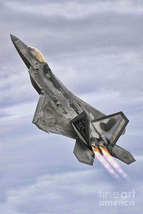 A Raptor Rising By Tommy Anderson Fighter Jets Aircraft Military Jets