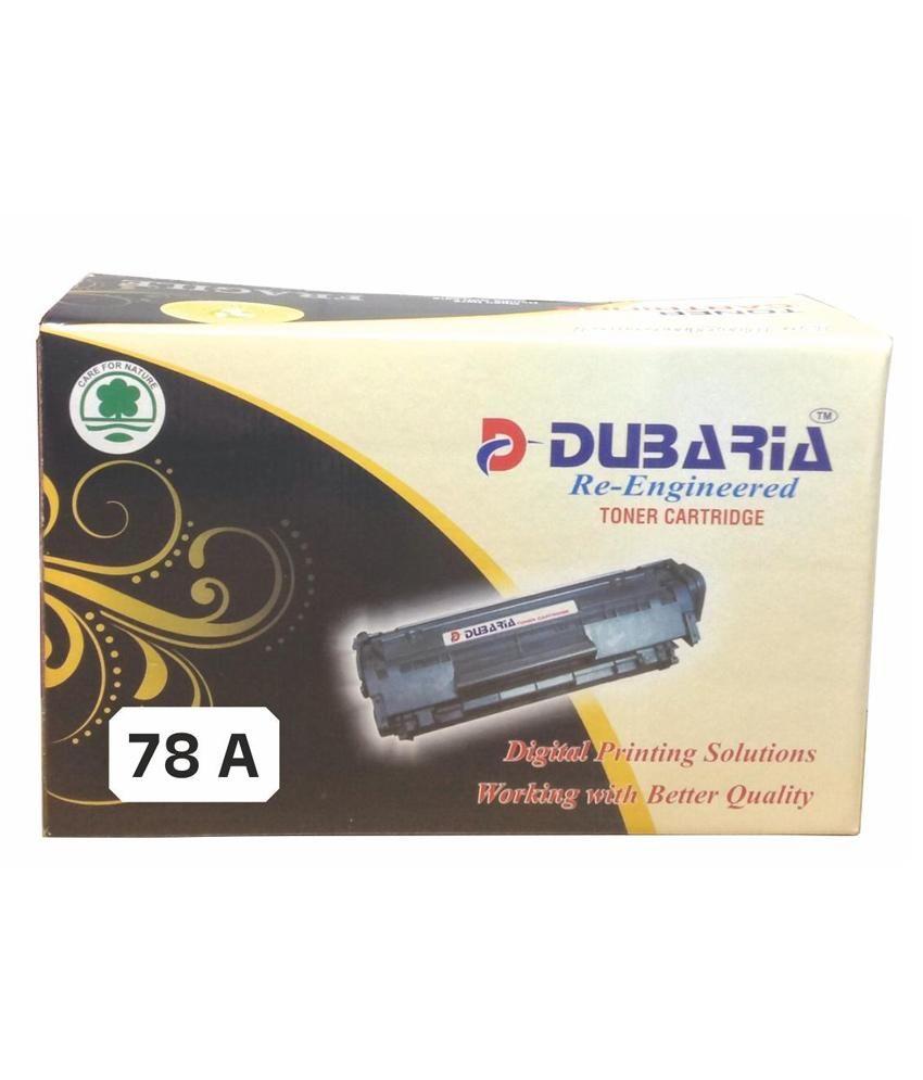 Dubaria 78a Black Toner Cartridge Compatible For Hp 78a Ce278a Toner Cartridge Toner Cartridges