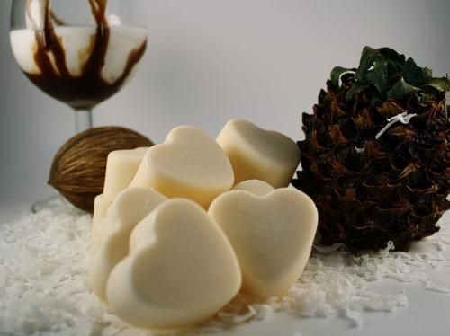 Soy Wax Melts Soy Wax Tarts Cacao Colada Scented Wax Melts/Tarts | blackberrythyme - Candles on ArtFire
