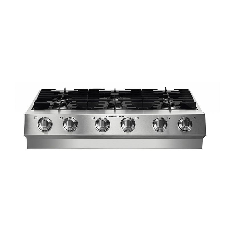 Electrolux Icon E36gc75gss 36 Quot Slide In Gas Cooktop Sears Outlet