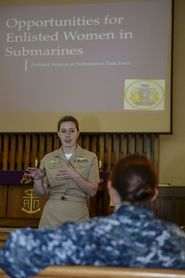 Lt Jennifer Carroll, the Submarine Force Women in Submarines Task - surface warfare officer sample resume