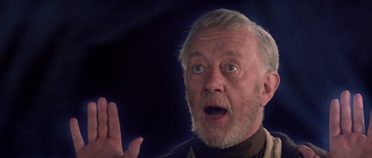 Ghost Obi-Wan is Emphatic