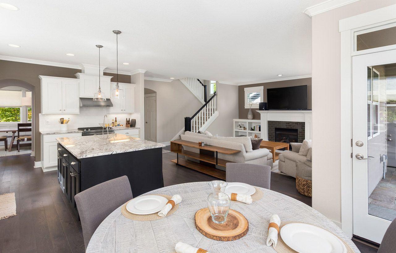 9 Offene Konzept Küche Wohnzimmer und Esszimmer Grundriss Ideen ...