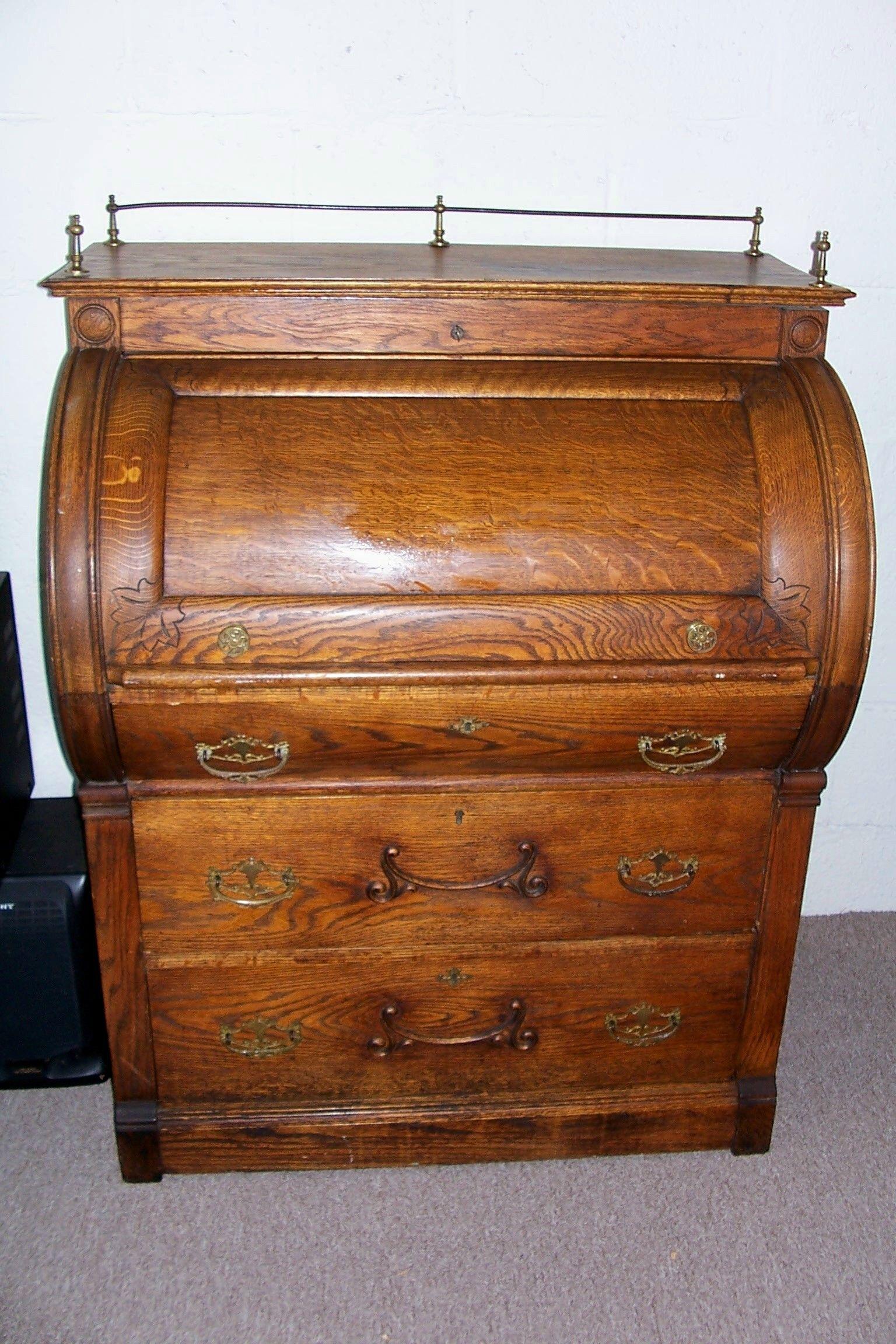 Antique roll top desk - Antique Roll Top Desk Roll Top Desk/Antique Desk Pinterest