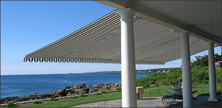Retractable Patio Awnings to Fit Any Budget   Deck awnings ...
