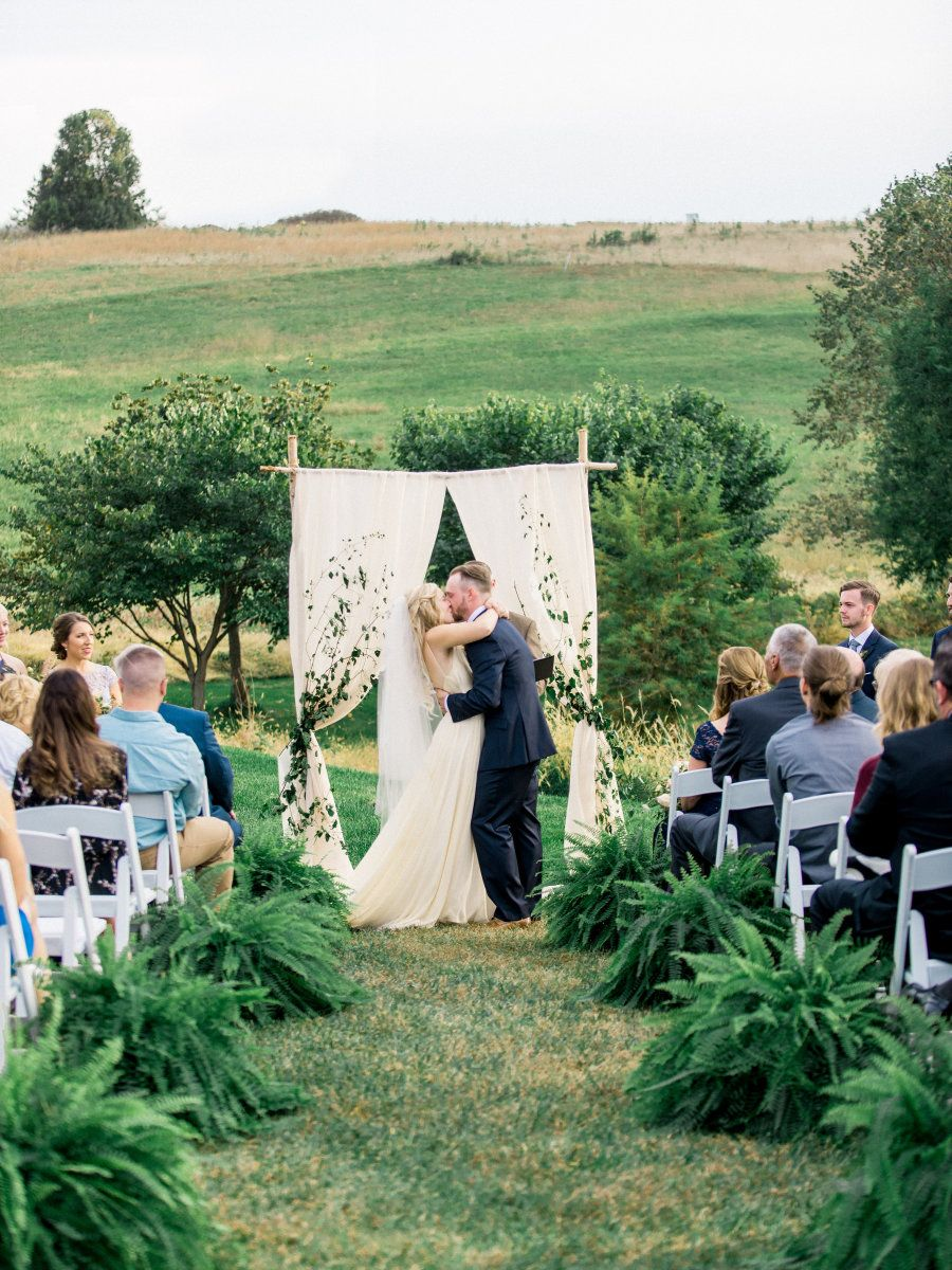 Homestyle Wedding Inspired By Dinner at Grandma's Farm