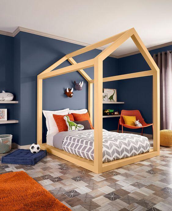 Colores de interiores de casas modernas colores para for Casas pequenas modernas interiores