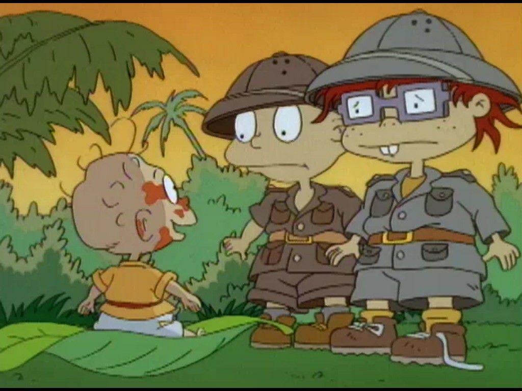 Rugrats The Jungle Rugrats Volume 6 2000 Vhs Pinterest Rugrats