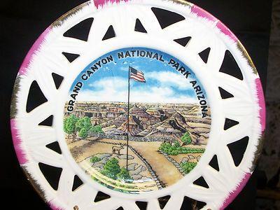 Vintage Grand Canyon Arizona National Park Collector Porcelain Souvenir Plate  $9.99
