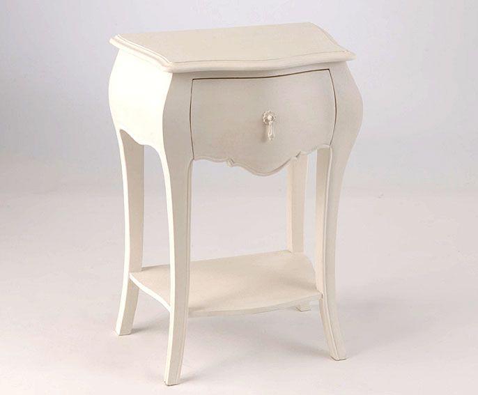 Muebles Portobellostreet.es: Mesa de Noche 1 cajón Murano II ...