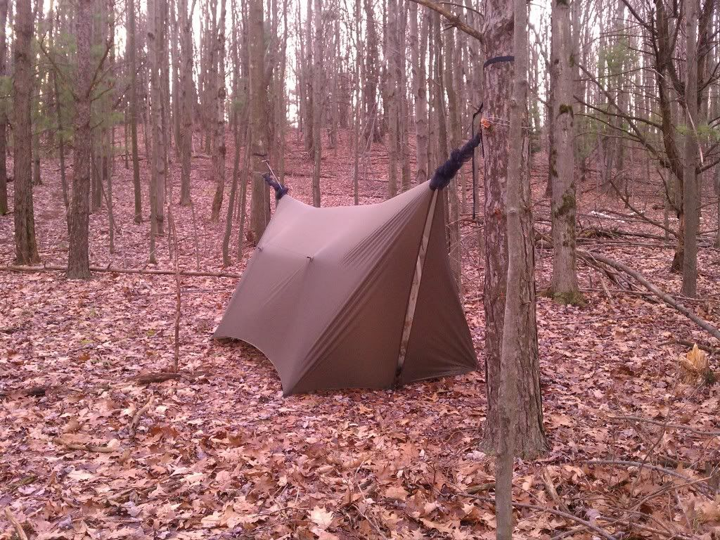 B Student Practice For Tarp Shelter Lesson With Images