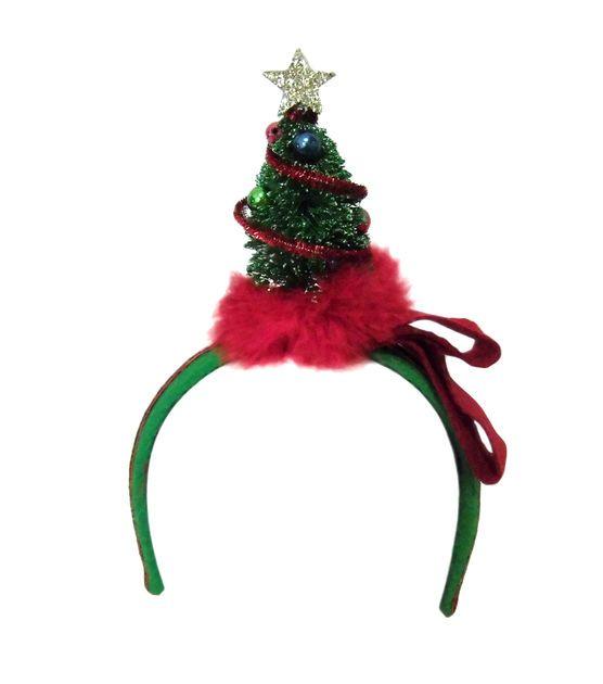 Holiday Inspirations Christmas Tree Headband Christmas decor