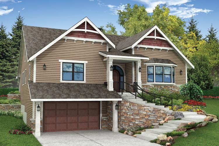 House Plan 035 00653 Craftsman Plan 2 495 Square Feet 3 Bedrooms 3 Bathrooms In 2021 Craftsman Style House Plans Craftsman House Plans Ranch House Exterior