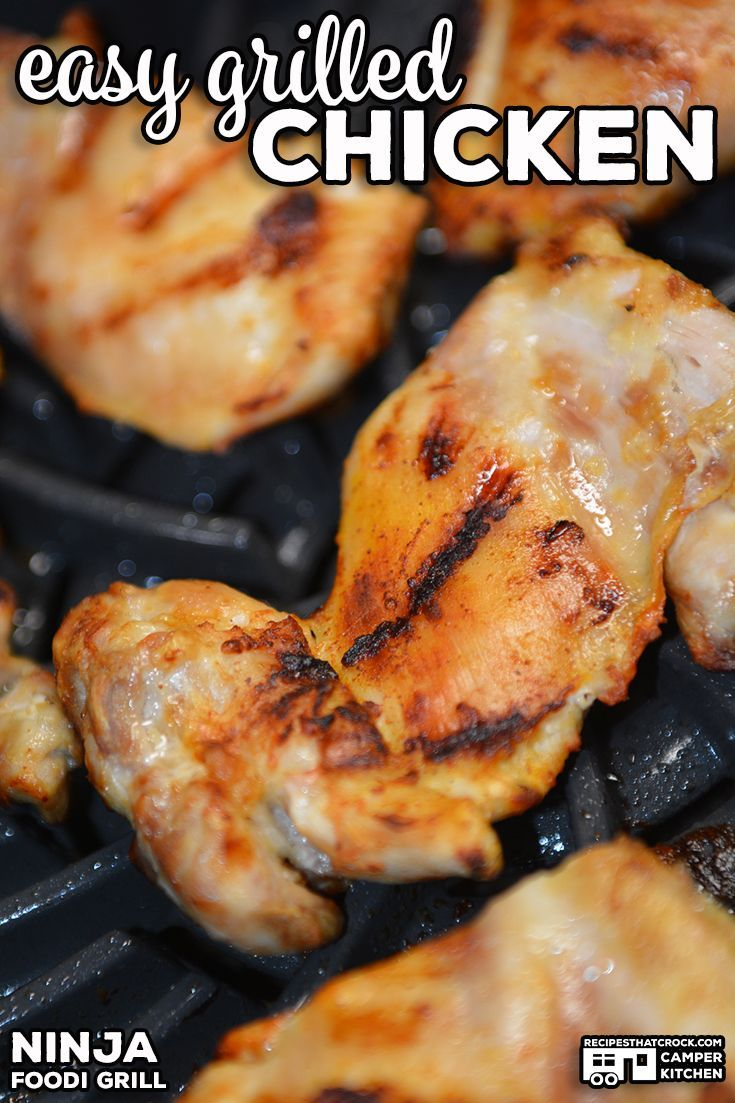 Easy grilled chicken ninja foodi grill recipes that