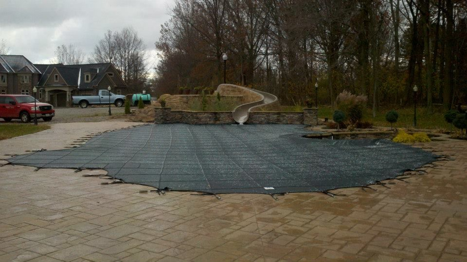After rayner gray mighty mesh pool cover pool cover