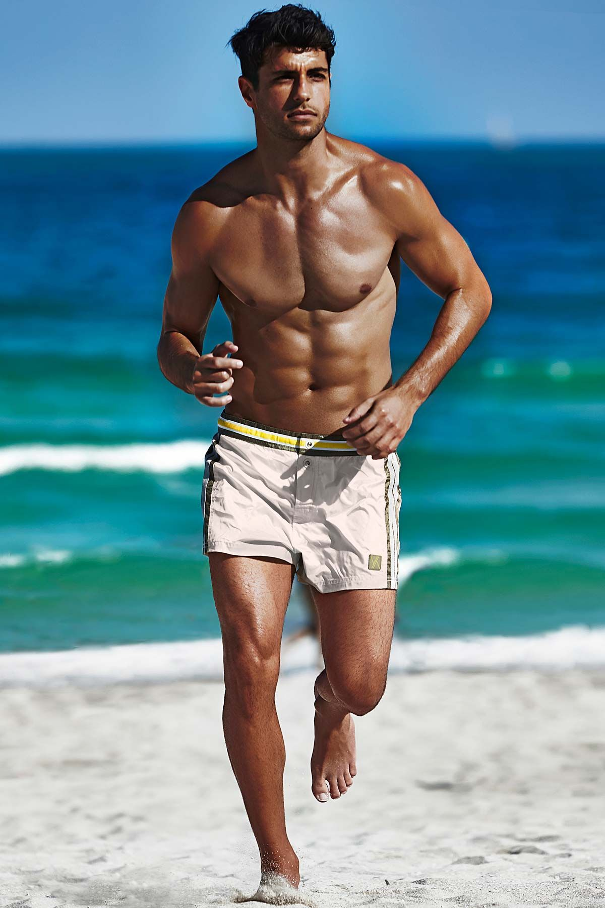 Jason beach wet men stoner bikini