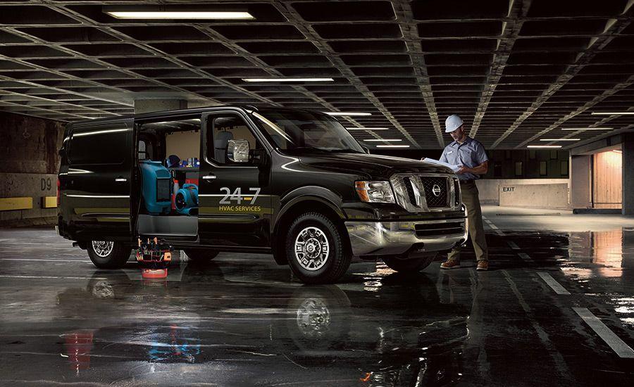 Custom Nissan NV Cargo Vans Cargo van, Commercial van