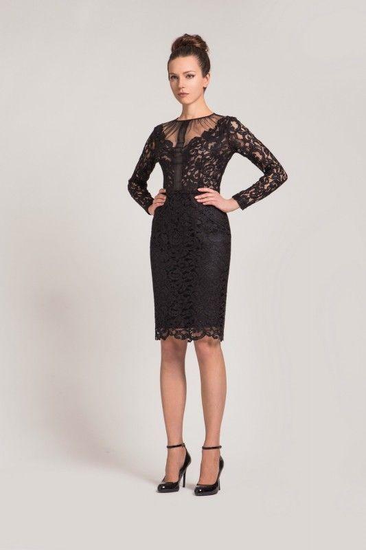 Кружевная сетка на платье