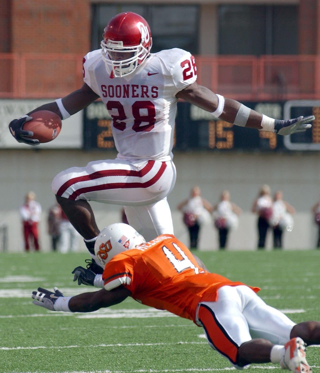 28 days away One of the best college backs ever, Adrian ...