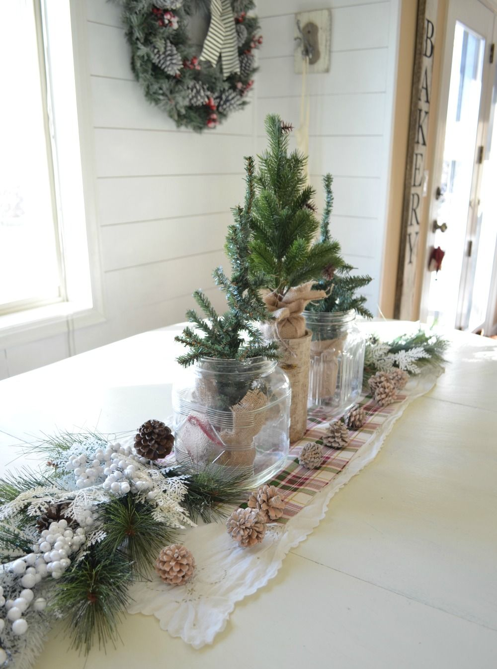 simple farmhouse christmas centerpiece a simple vintage inspired centerpiece perfect for the holiday season - Simple Christmas Centerpieces