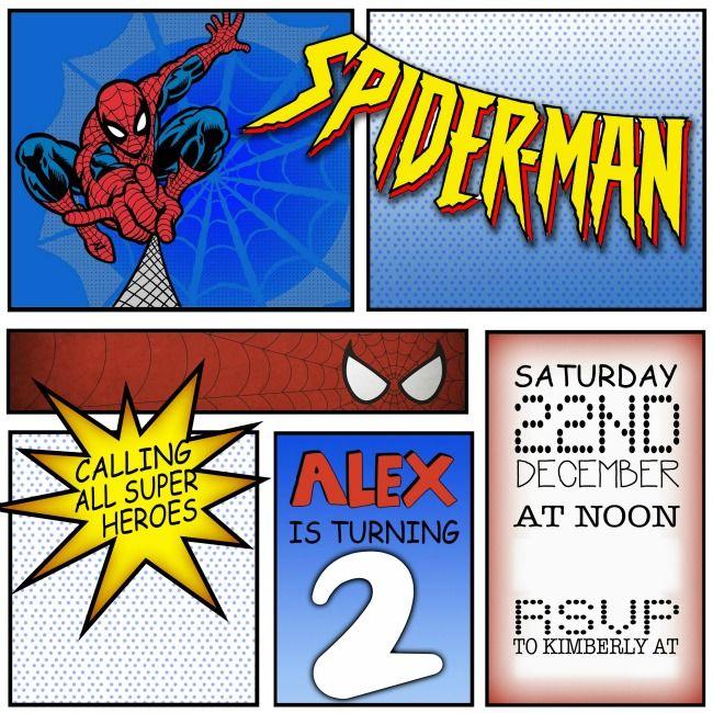 , spiderman party invitations, spiderman party invitations australia, spiderman party invitations download, invitation samples
