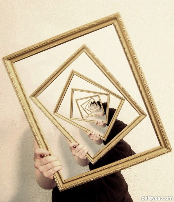 Framed photoshop picture)
