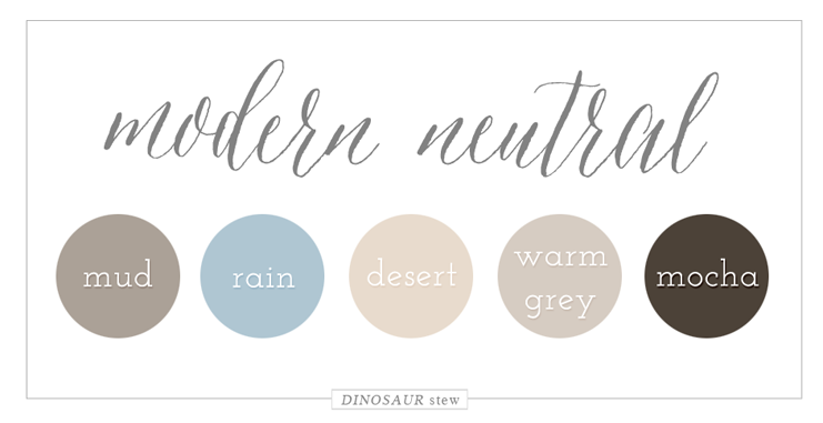 Neautral Colors color palettes | neutral color palettes, modern and design color