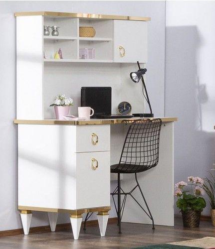 Paris Schreibtisch weiß komplett jugendlich Zimmer