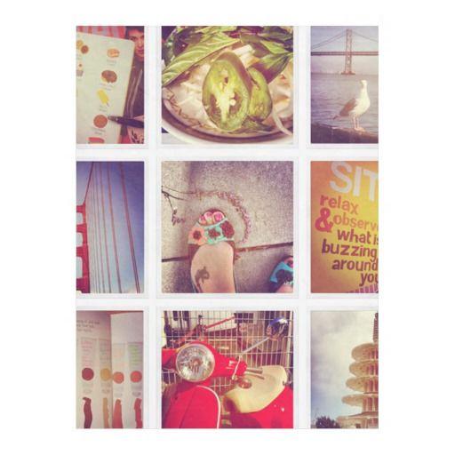Create Your Own Instagram Fleece Blanket