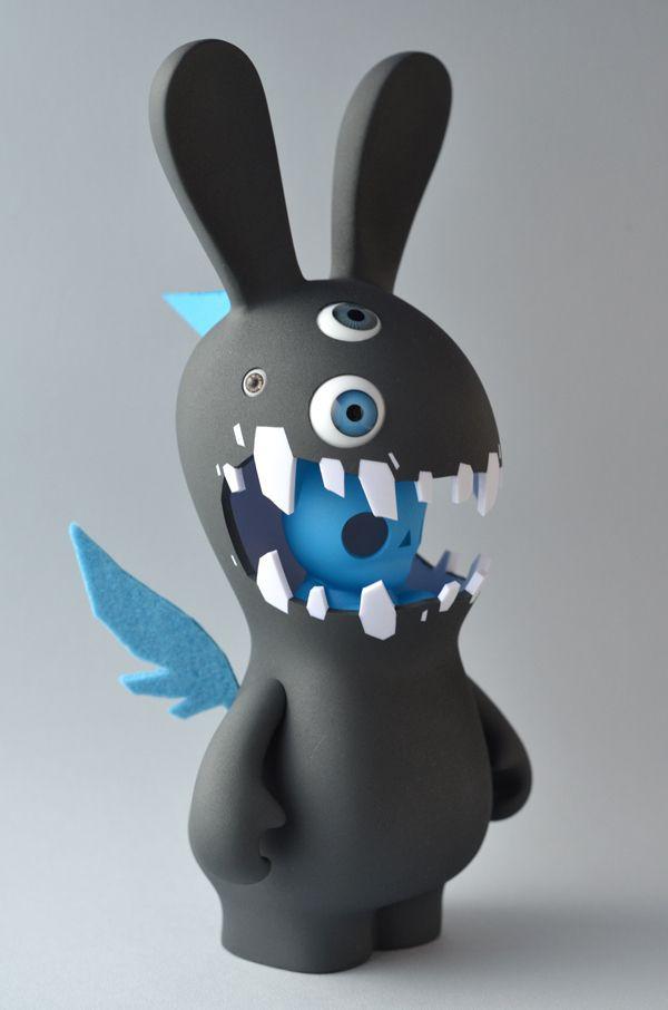 Art Toy 20 Geniales diseños de juguetes Toy, Characters and Vinyl
