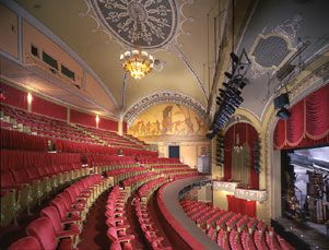 Bernard B Jacobs Theatre Shubert Organization New York Movie Theatre Interior Historic Theater