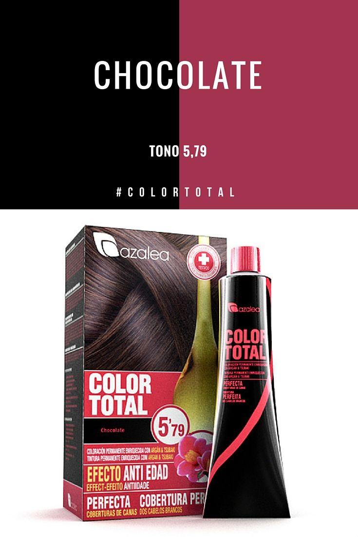 Color Total De Azalea Es Una Coloracion Permanente En Crema