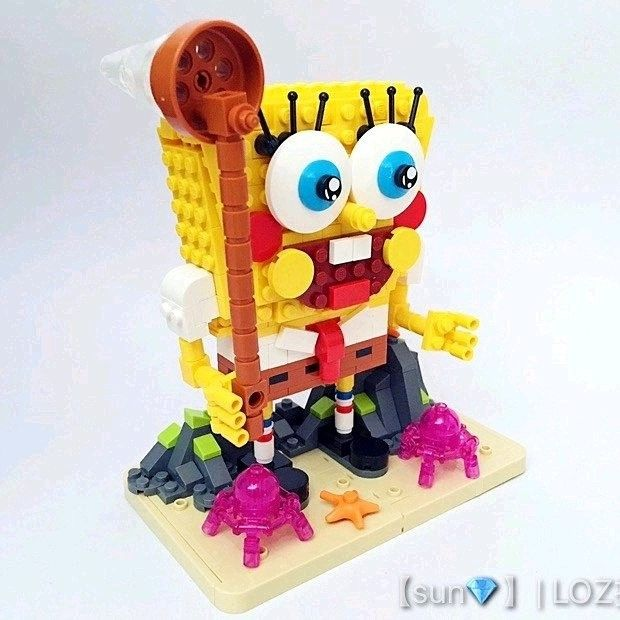 Have a great weekend with LOZ SpongeBob Squarepants ! (If you ...