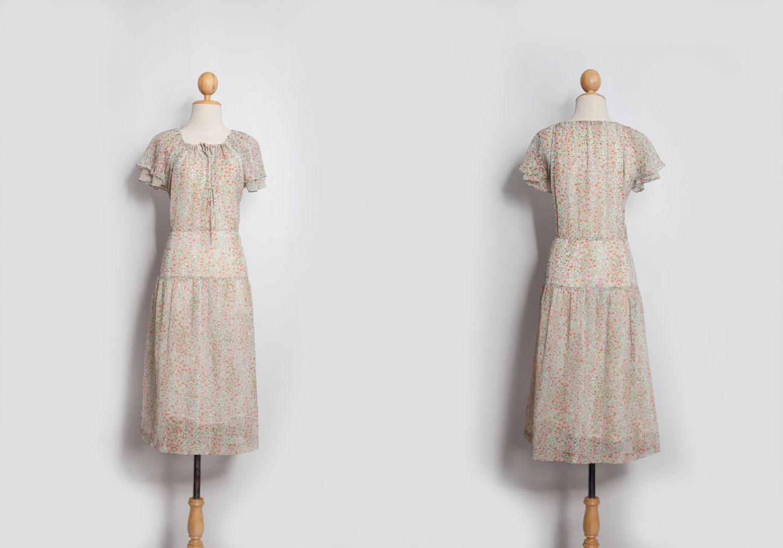 Beige dress s s s dresses vintage dress japanese dress