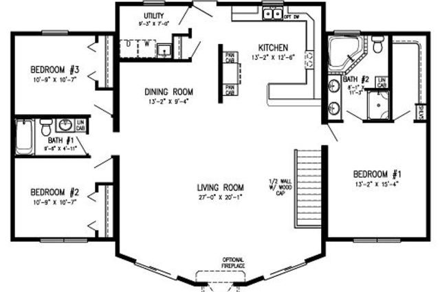 Modular Homes With Open Floor Plans Modular Home Floor Plans New House Plans Barndominium Floor Plans