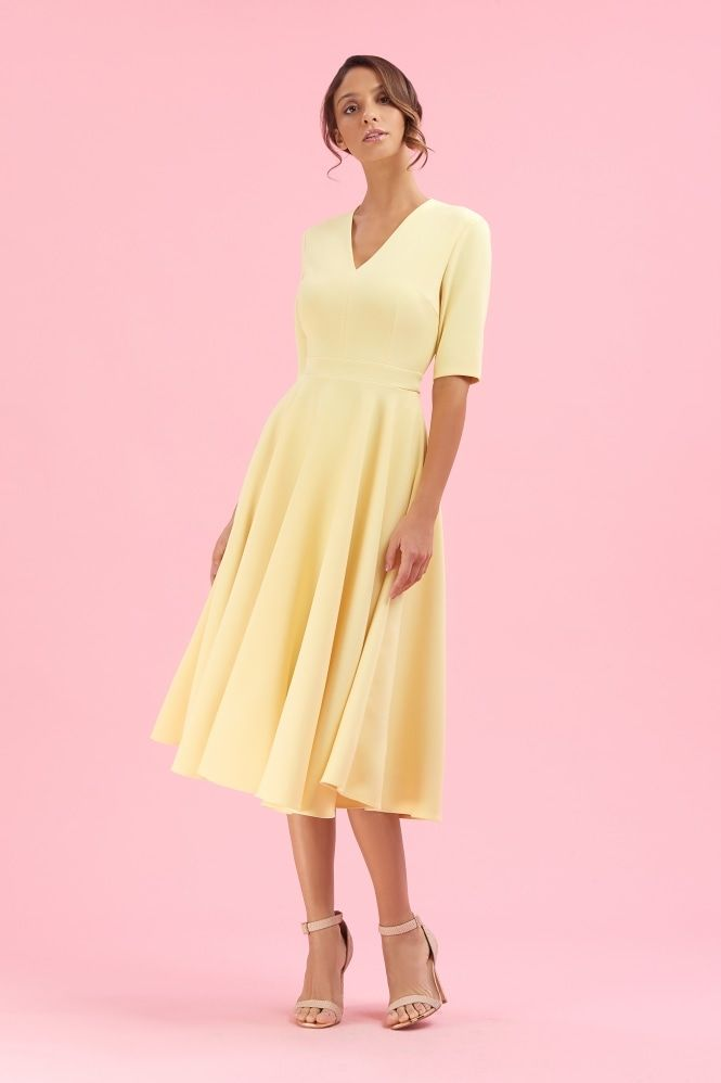 a6204fad05a New for this season is the graceful and feminine Myla Dress. Made from a  stretch